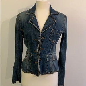 DKNY - Blue washed jean jacket.